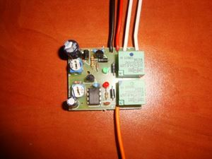 Picture of 2 IN 1 DELAY ON AND DELAY OFF CAR FRONT LIGHTS SWITCH TIMER RELAY KIT 20A 12V