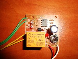 Picture of Delay Off Switch 12V On/Off Buttons TIMER SWITCH TIME RELAY 1 TO 270 SEC KIT 10A