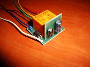 Picture of SMD TIMER DELAY OFF SWITCH RELAY 0.5 TO 170 SEC KIT 10A 12V POSITIVE PULSE START