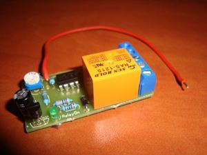 Picture of POSITIVE PULSE ACTIVATING TIMER SWITCH RELAY DELAY OFF 1 TO 270 SEC KIT 10A 12V