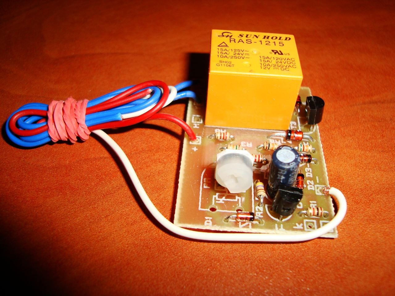 Deselectra Electronics Timer Switch Time Relay 05 To 20 Sec Kit 7a Cyclic Wiring Diagram Picture Of Delay Off 12v